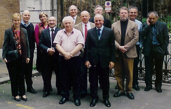 The PPi team in Rome, Italy. 2006