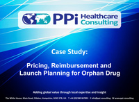 Pricing, Reimbursement and Launch Planning
